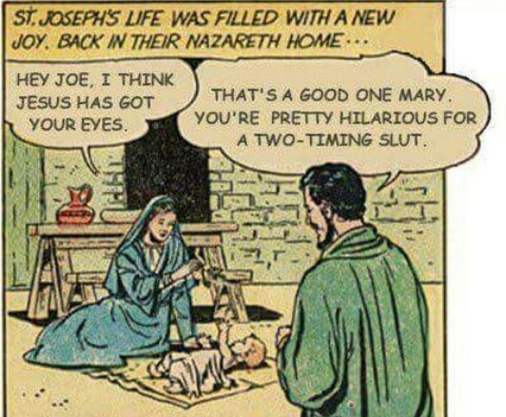 Joseph and his unfaithful wife