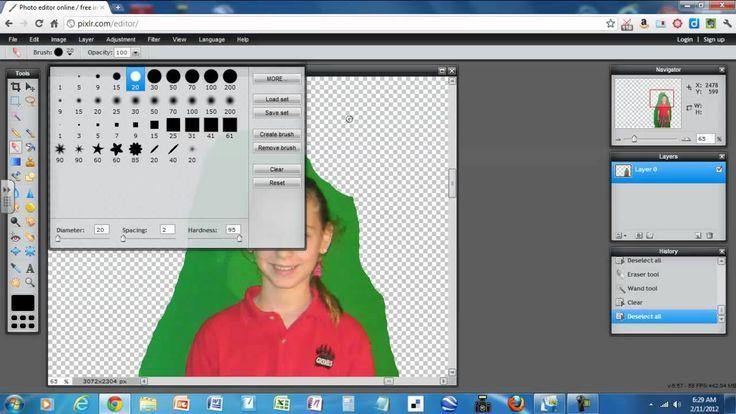 Pixlr Removing Image Background Photo editing tutorial