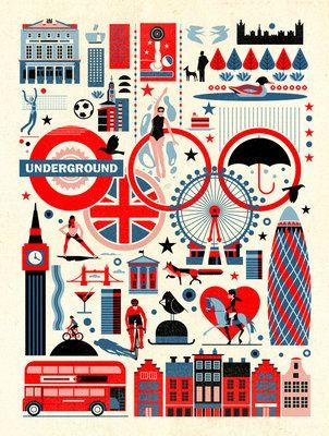 Olympics by Dieter Braun - print
