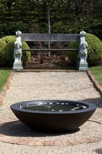 Hawthorn bowl in black, also available in grey.