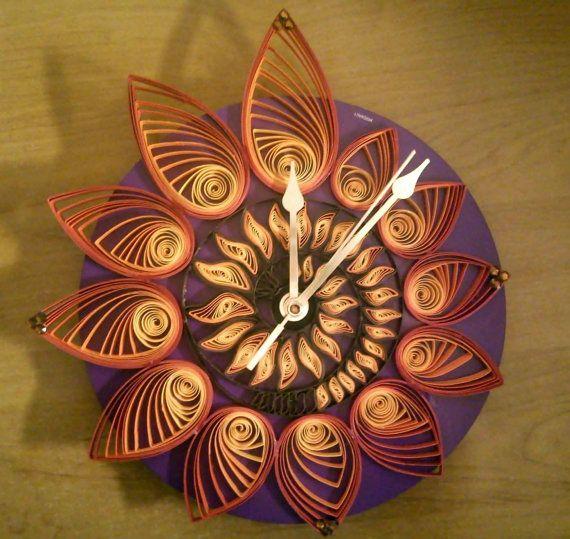 A paper clock