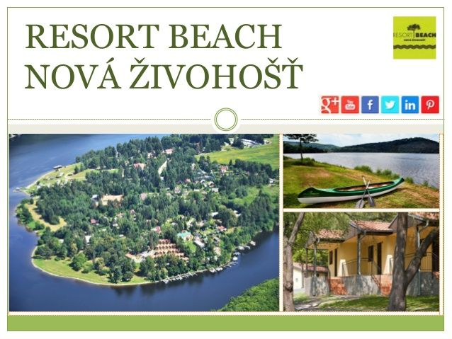 Resort Beach Nová Živohošť by Resort Beach Nová Živohošť via slideshare
