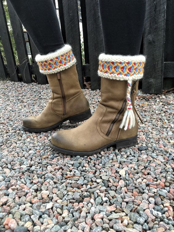 Boot+cuffs++Swedish+Lovikka+boot+cuffs+by+JezebelAdrian+on+Etsy