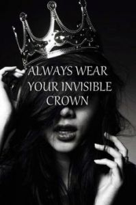 Alpha Female _ Independent - Boss with Class QUEEN Wear your Crown