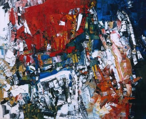 Jean Paul Riopelle-Perspectives,c. 1958.