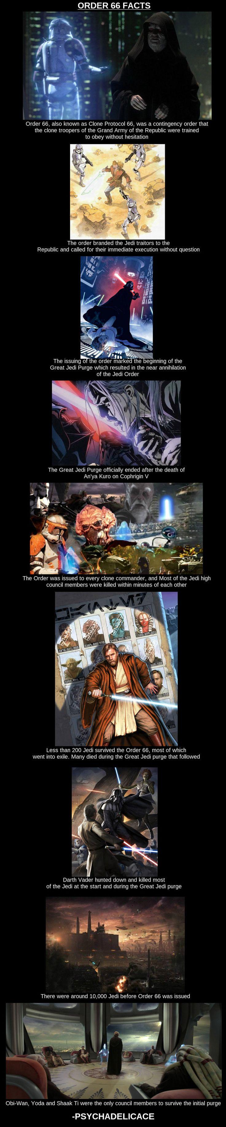 Order 66, Star Wars trivia