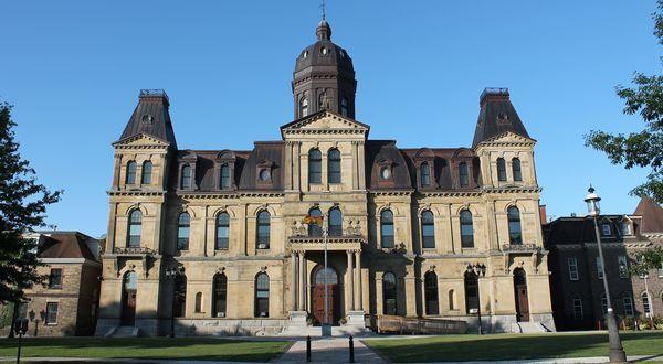 Legislative Assembly, Fredericton, New Brunswick Canada