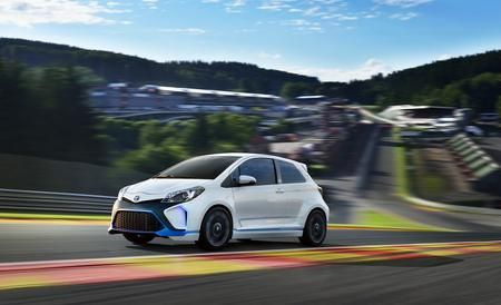 Toyota Yaris Hybrid R Concept - Hybrid -R you kidding me? This concept is fantastic.