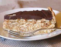 German Cake With Cookies Secchi - Torta Tedesca Con I Biscotti Secchi