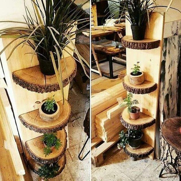 17 ausgezeichnete DIY Holzdekorationen, die Sie kostenlos tun können