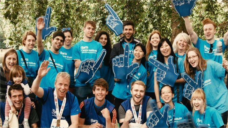 British London 10k Run team 2015: volunteers and runners