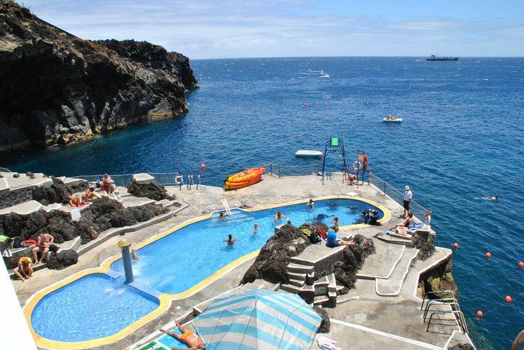 Canico de Baixo beach, Madeira.