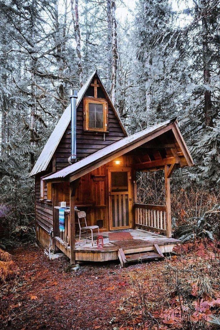 советуют красивое фото домика в лесу думают, что