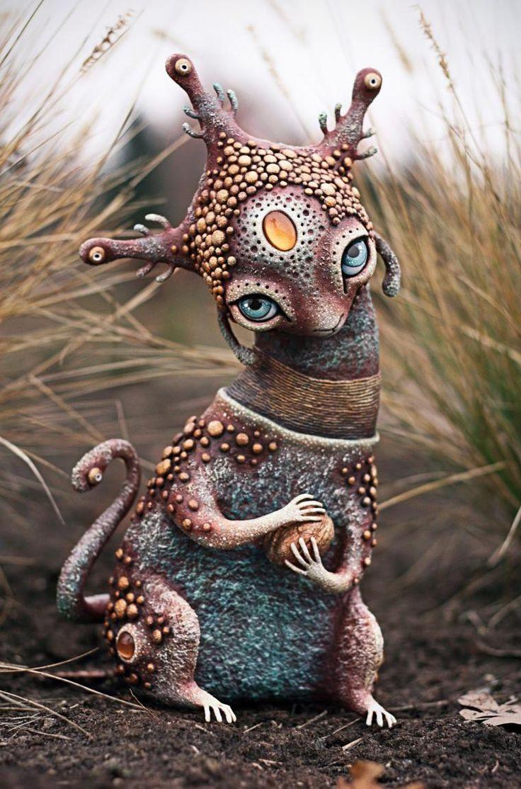 Чудесный мир инопланетных кракозябр - Ярмарка Мастеров - ручная работа, handmade