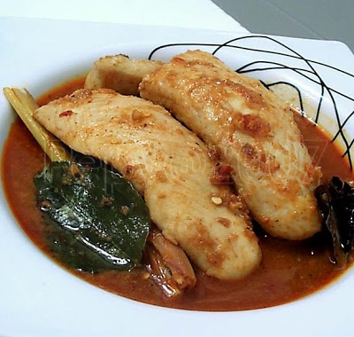 Fish in Balinese Spice |