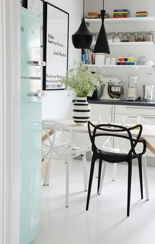 inspiration design master chairs. Tom Dixon Beat light  Magis Chair One and Kartell Masters Smeg refridgerator 32 best Inspiration images on Pinterest Side chairs