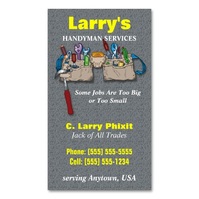 1978 best Handyman Business Cards images on Pinterest