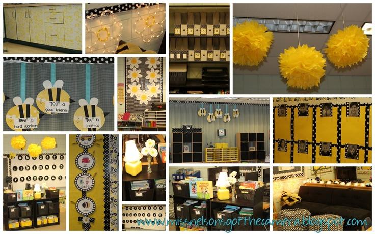bee themed classroom: Classroom Theme, Bee Classroom, Classroom Decoration, Camera, Bee Themed, Classroom Ideas, Classroom Organization, 2Nd Grade