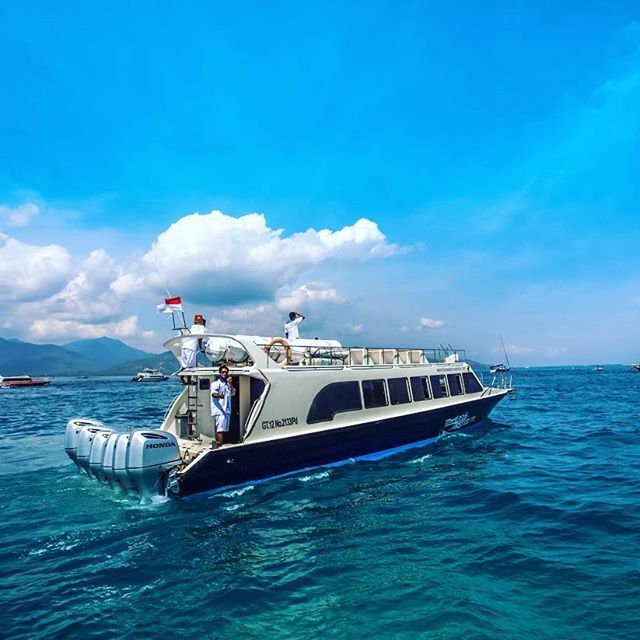 BlueWater Express VII heading to Gili Air from Teluk Kode, Lombok. See you on the way back to Bali