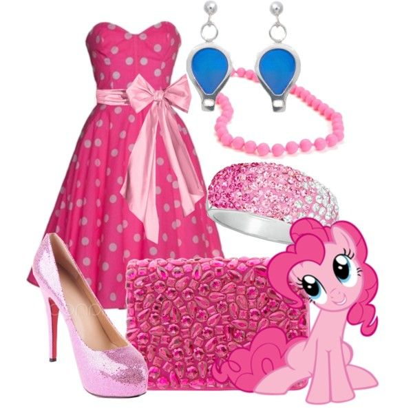 Pinkie Pie By Jesandersen On Polyvore Mlp Pinterest Pinkie Pie Mlp And Pony