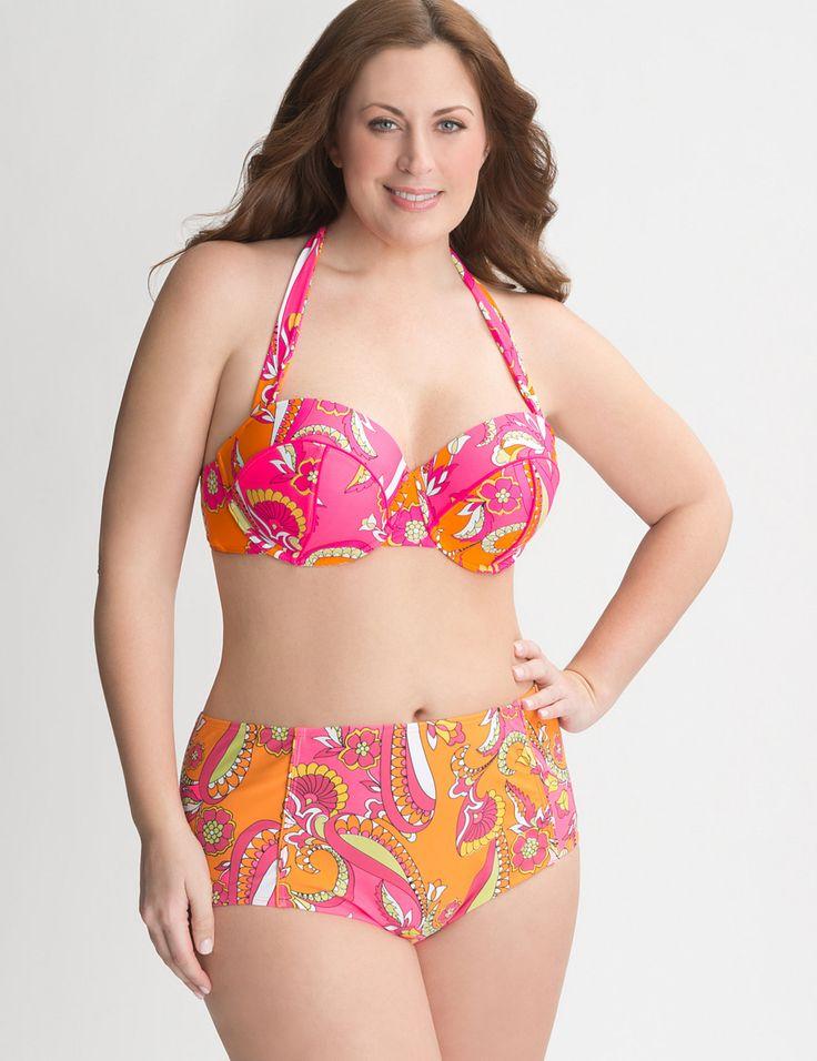 Plus Size Swimwear Separates   Tankinis, Swim Shorts & Skirts   Lane Bryant