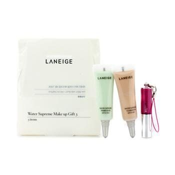 Korean Cosmetics Laneige Water Supreme Make up Gift Set of 3pcs * AMAZON Great Sale