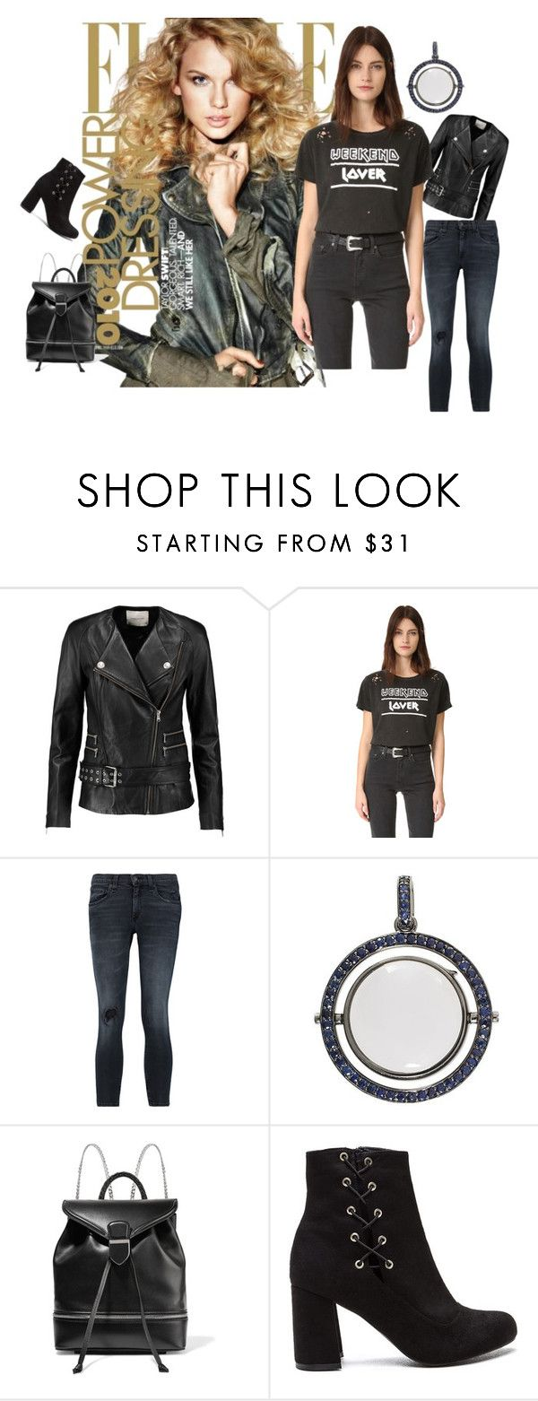 """Crazy Weekend...!!!"" by hillarymaguire ❤ liked on Polyvore featuring Pierre Balmain, Prince Peter, rag & bone, Loquet and Alexander McQueen"