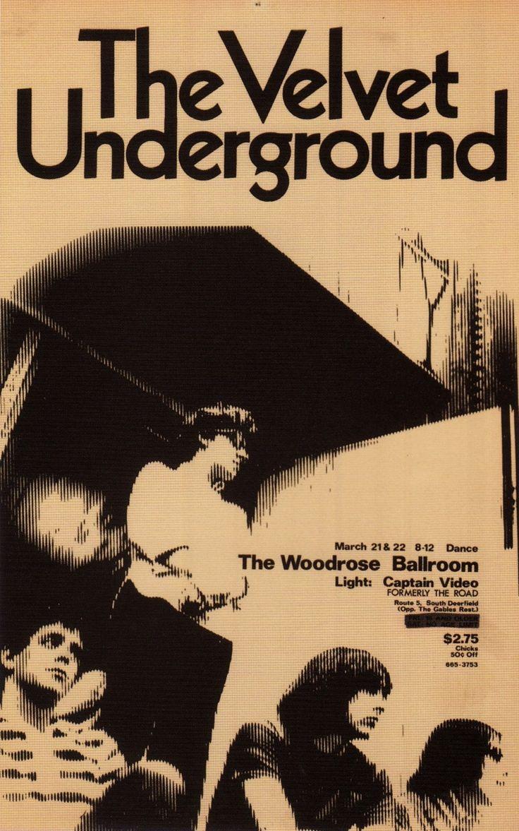 The Velvet Underground.  Tickets $2.75; chicks $0.50 off...