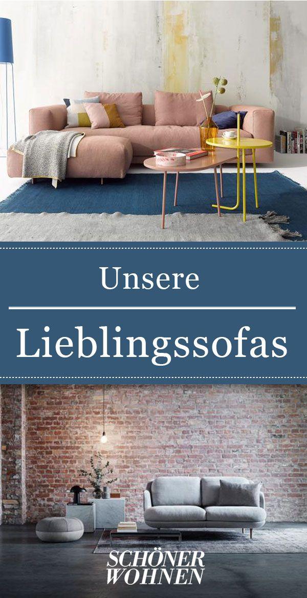 Lieblingssofas Mit Leder Oder Stoffbezug Wohnzimmertische Zimmer Einrichten Dekor