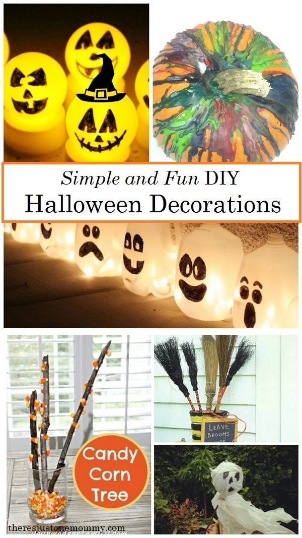 DIY Kids Halloween Party Ideas KBN Halloween for Kids Pinterest - diy halloween party decorations