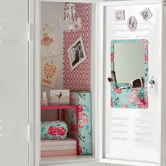 Preppy Diamond Pink Magenta Locker Wallpaper | PBteen