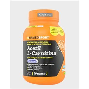 NAMED SpA PROMO – ACETIL L-CARNITINA 60 CAPSULE a soli 16,10€