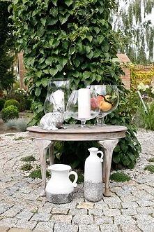 Zobacz zdjęcie dekoracyjne szklane wazony, szklane naczynia, ceramiczne wazony w greckim stylu