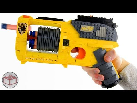 This LEGO-Built Nerf Gun Replica Is Fully Operational - Digg