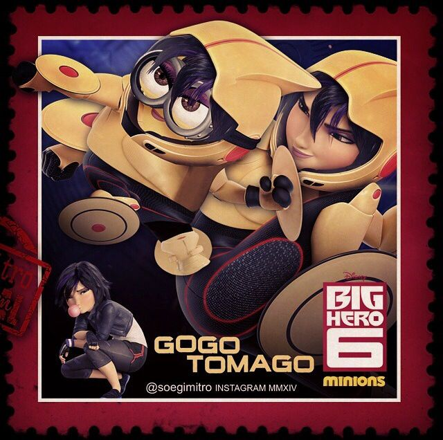 Big Hero 6 Minions ~ Gogo Tomago