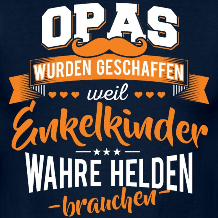 Opa Enkelkinder Helden - Männer T-Shirt (Cool Diy Shirts)