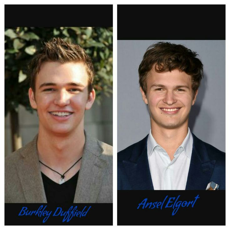 Burnley Duffield and Ansel Elgort