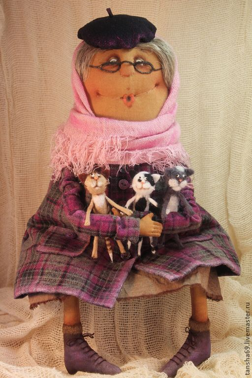 Купить Добрая душа... - разноцветный, примитив, примитивная кукла, текстильная кукла, ароматизированная кукла