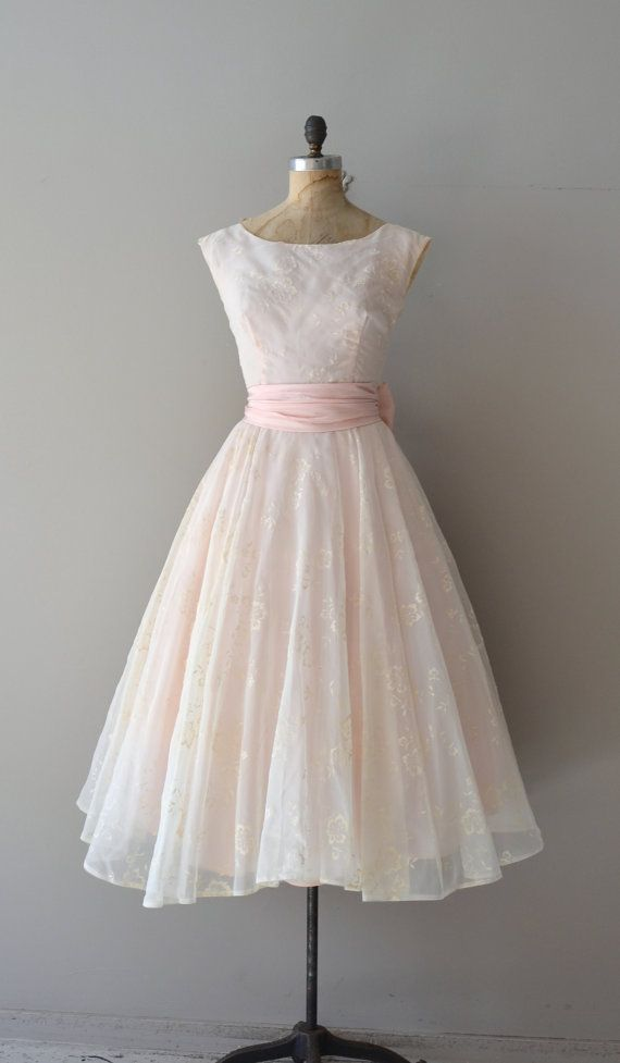 1950's Parlor Match dress pink dress