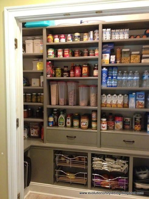 Best 25 Custom Pantry Ideas On Pinterest Pantry Design