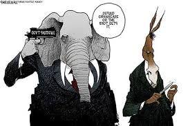 Many criticize GOP tactics leading up to shutdown.