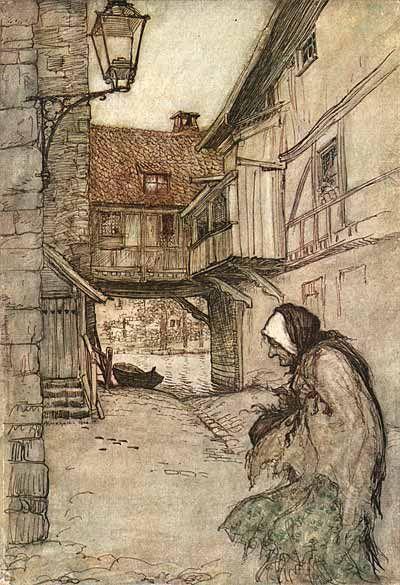 Grimm's Fairy Tales illustrated by Arthur Rackham