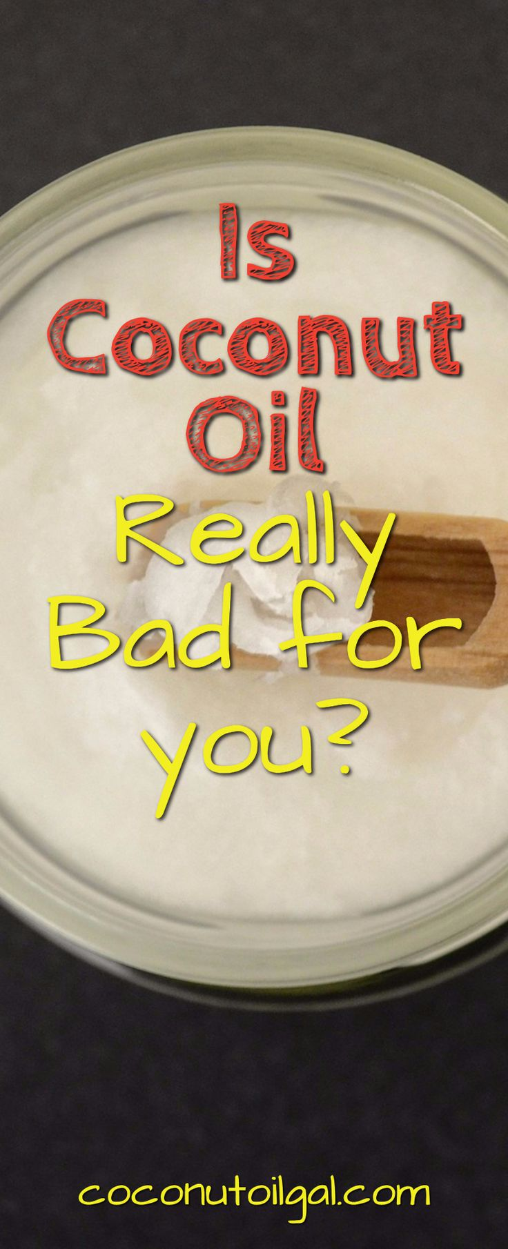 Is coconut oil actually really bad for you because it's a saturated fat? Let's take a look at coconut oil closely and see if in fact it is healthy to consume.