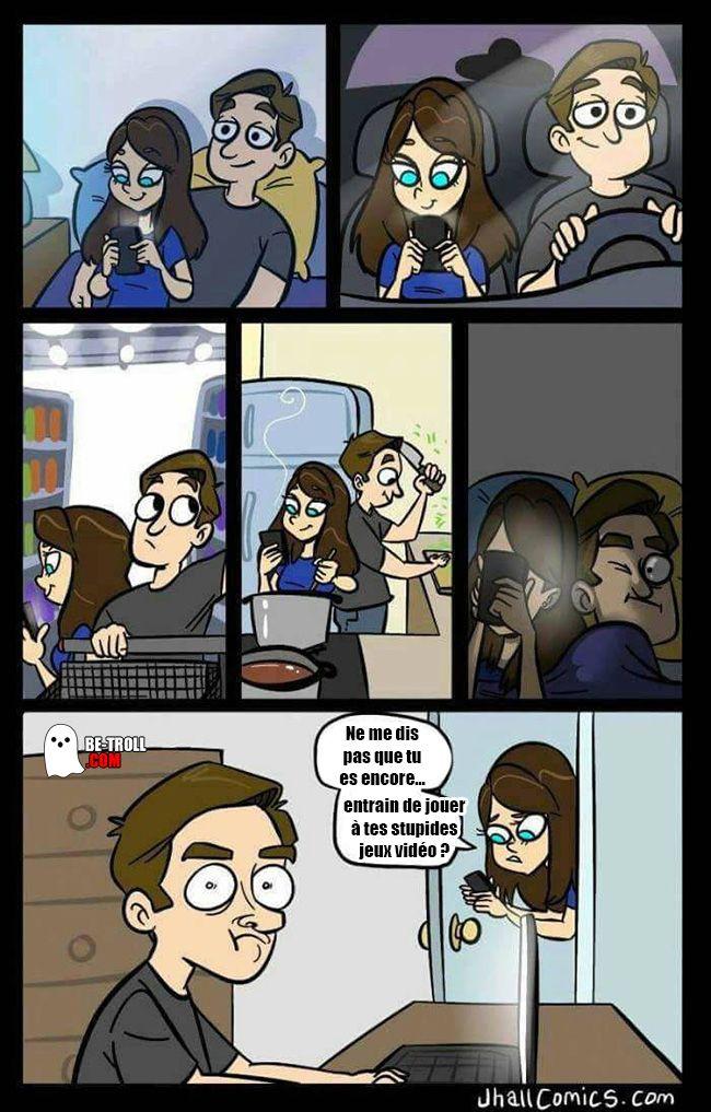 Tu es encore sur tes stupides jeux vidéo ? - Be-troll - vidéos humour, actualité insolite