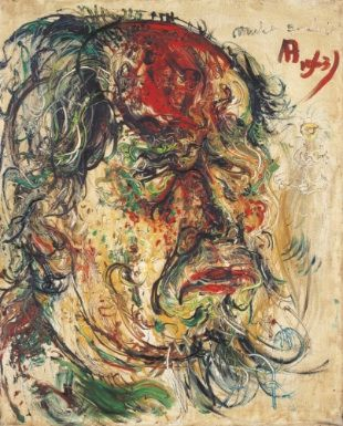 Self Portrait by Affandi