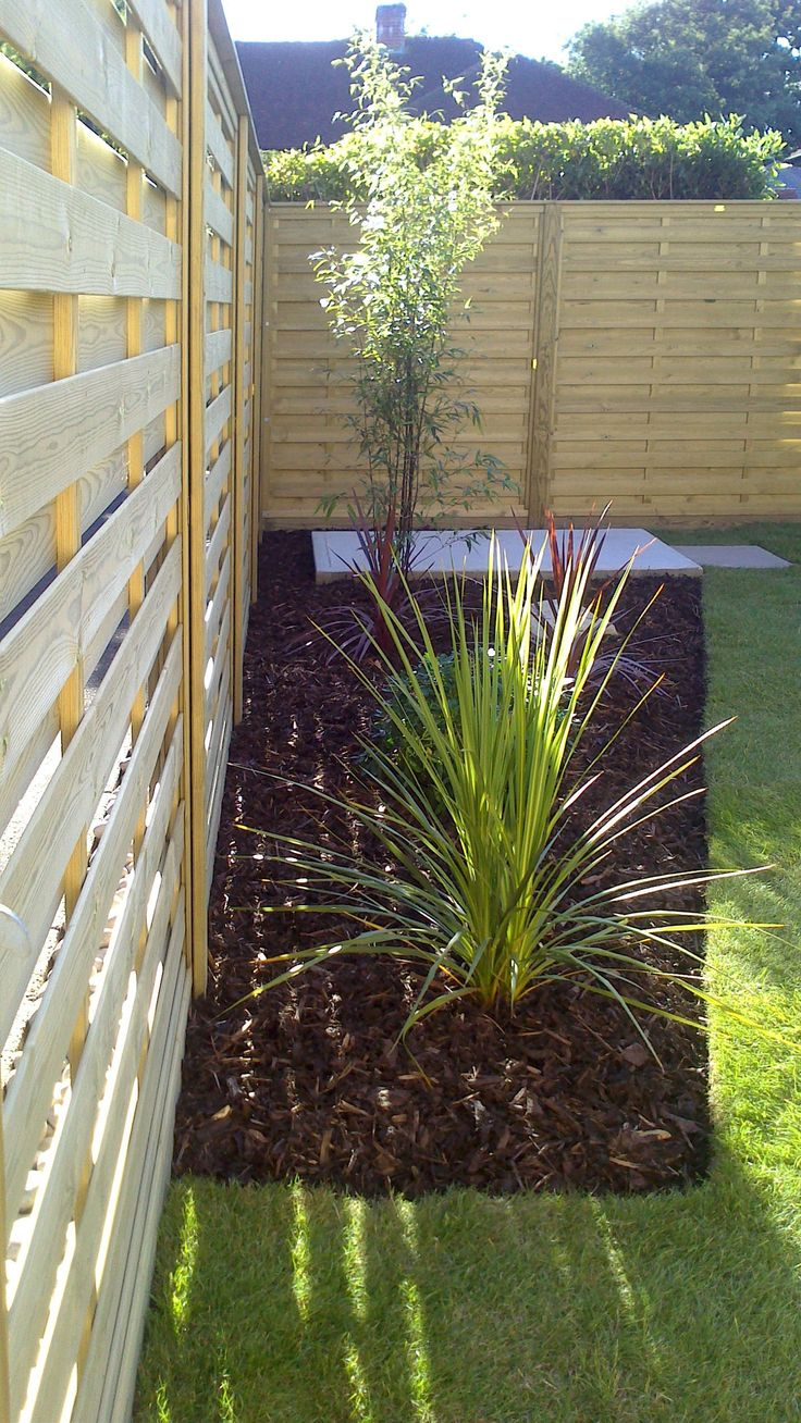 146 best customer project portfolio images on pinterest fencing a photo that shows sunlight shining through the hit and miss fence panels fencing baanklon Choice Image