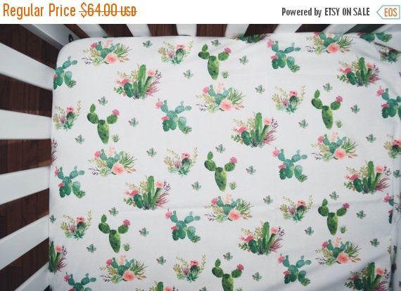 Cactus Flowers Baby Room Rug