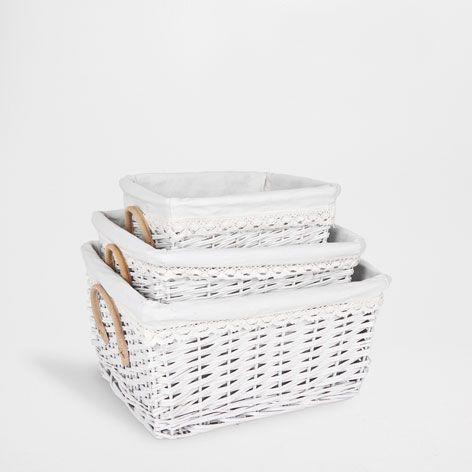 cesta mimbre cestas ba o zara home espa a varios