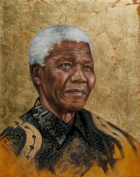Nelson Mandela by Visual Artist Sara K. Golish: Changing Society's Meaning of Beautiful - AFROPUNK