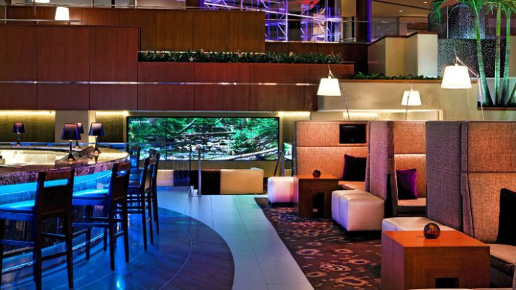 Hyatt Regency - Greenville, SC. I've enjoyed this hotel on several trips to the area. Convenient location to downtown attractions & I love the service at the Orb Lounge!